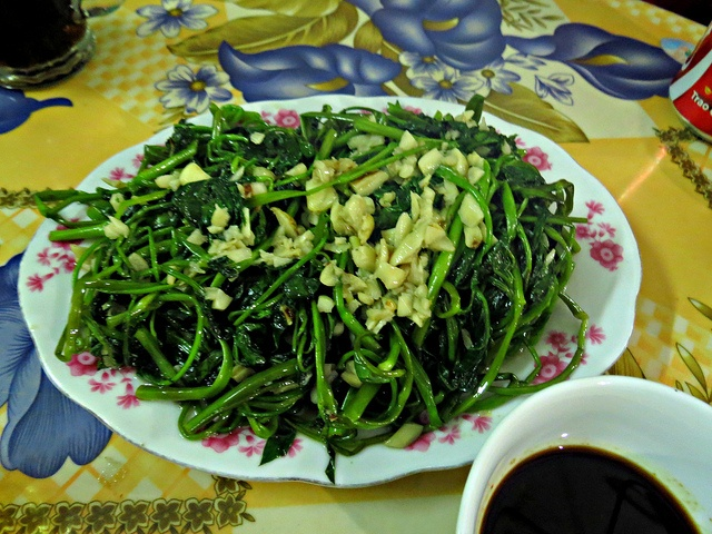 Vietnam. Son La restaurant, where we had delicious food, once again.    Ipomoea aquatica is a semiaquatic, tropical plant grown as a leaf vegetable. It is found throughout the tropical and subtropical regions of the world, although it is not known wher http://www.delicious.com/soloha