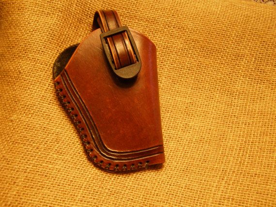 Leather Small Frame Revolver Holster by LeatherbyKD on Etsy