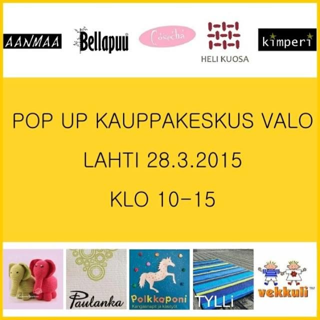Pop Up Kauppakeskus Valo 28.3.2015