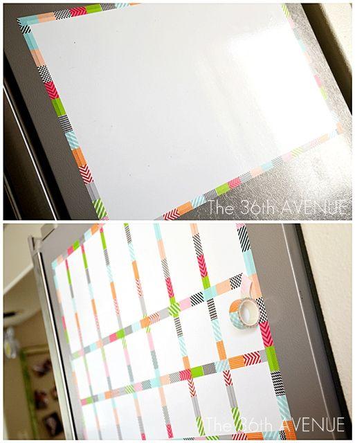 The 36th AVENUE | Make a White Board Magnetic Calendar | The 36th AVENUE