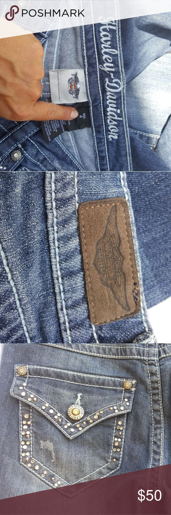 Harley Davidson jeans New without tags Harley-Davidson Jeans Boot Cut