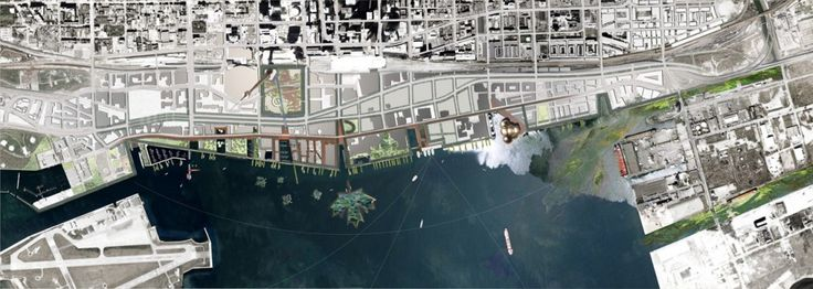 Toronto Central Waterfront / West 8 and DTAH