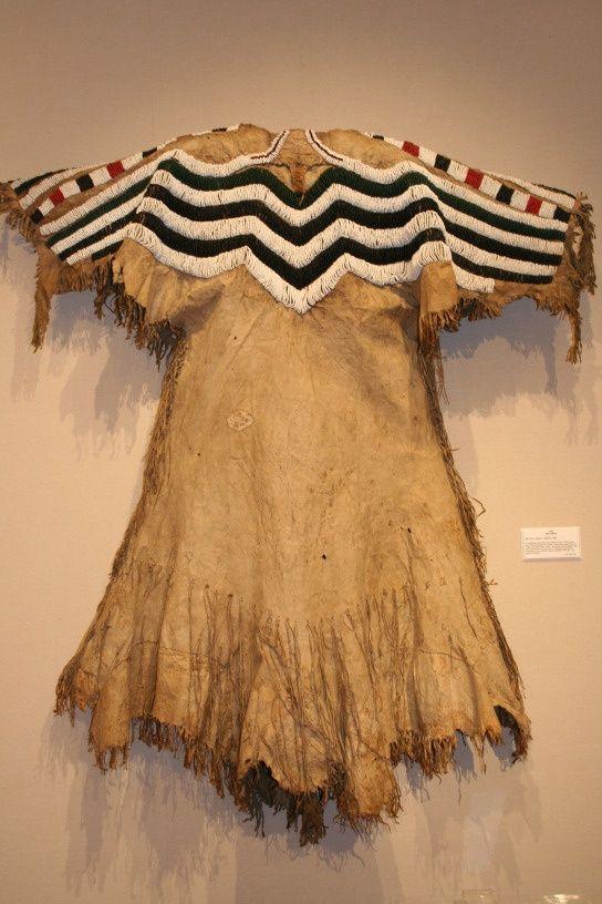 nez perce lands | Nez Perce Dress, c. before 1820