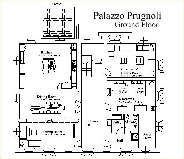 The Italian Style Villa Cross Between House Plans Superb Draw Tiny Home