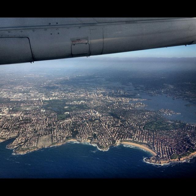 Sydney coast line