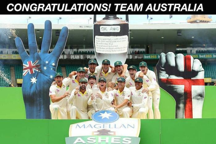 Australia beat England in the final Test to clinch the series 4-0 #AUSvENG #Ashes - http://ift.tt/1ZZ3e4d