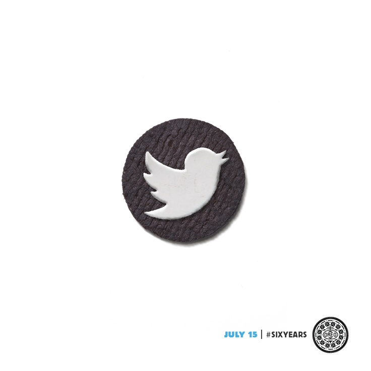 Six years of Twitter, a lifetime of OREO cookies.