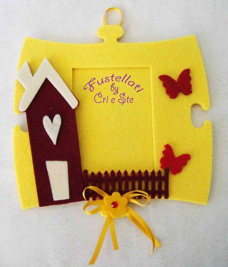 Fustellato Cornice Puzzle CM23, by Fustellati, 2,50 € su misshobby.com