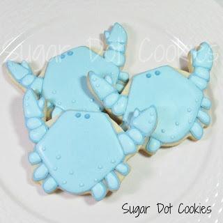 crab cookies Lake party food