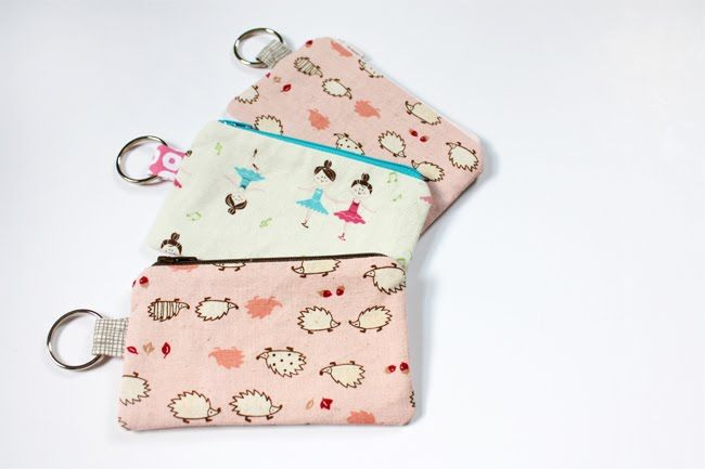 Ask and ye shall recieve! Here's the tutorial for the Lil Cutie Pouch. You need: 8 x 6.25 piece of