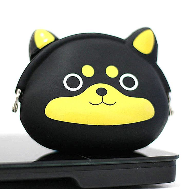 Coin Pouch Anjing Hitam 1 Rp 50.000