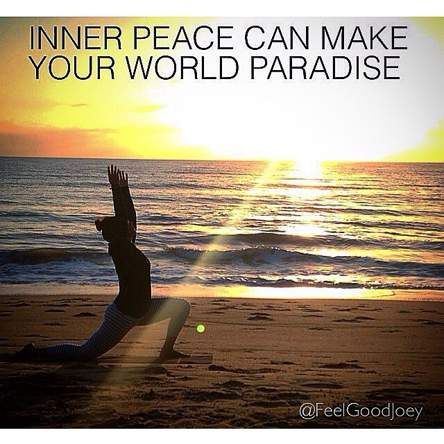 """Inner peace can make your world paradise"" What will you do today to centre your energies within towards love, light, happiness and peace.✌️✨ Day 19/30"