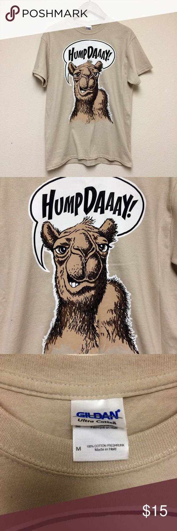 Hump Day camel t-shirt Hump Day camel t-shirt. Great condition. Unisex size M. Vintage Tops Tees - Short Sleeve