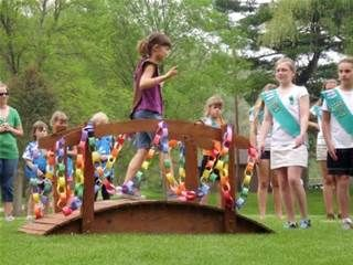 girl scout bridging to junior ceremony - Bing Images