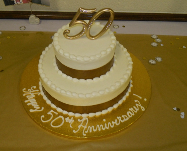 The Cake We Had For My Parents 50th Anniversary