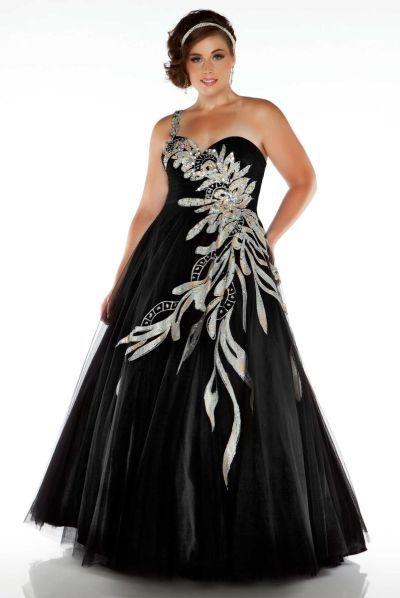 piniful.com plus size ball gowns (07) #plussizefashion