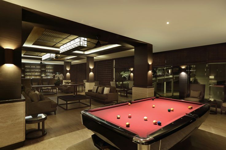 Pool table at Seho Lounge