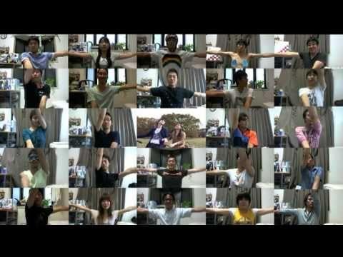 """友人がつくってくれた""""涙が止まらない"""" サプライズビデオレター 総勢参加人数 50人以上でお祝いしてくれました(^Д^) ありがとうございます!!"""