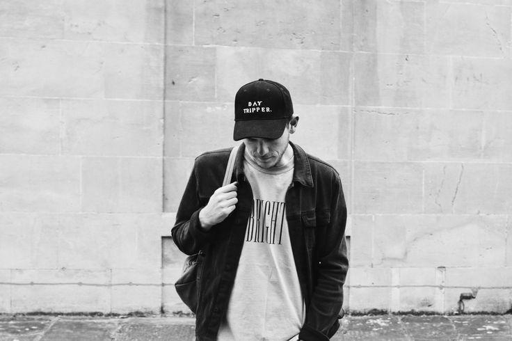 Day Tripper Black Cap | The Bright Life