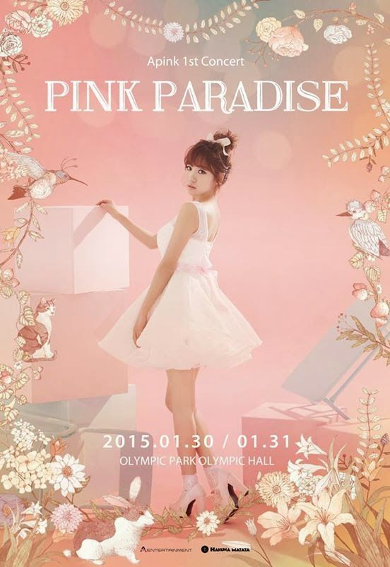 APink reveal new posters for Pink Paradise ~ Daily K Pop News