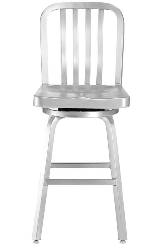 Sandra Counter Stool - $125 per, swivel - are we sure we don't - Best 25+ Aluminum Bar Stools Ideas Only On Pinterest Square