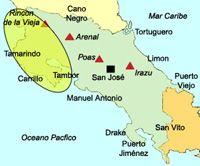 Costa Rica : plages, stations balnéaires, côte caraïbe, côte Pacifique