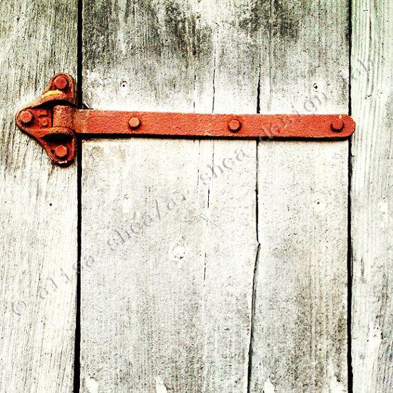 5x5 Rusty hinge barn door art print (fine art photography modern gray rusty  sc 1 st  Pinterest & 13 best BBQ hinges images on Pinterest | Barbecue Barrel smoker ...