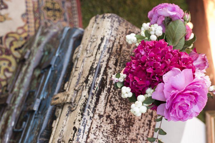 www.italianfelicity.com #weddingdecor #hydrangea #peonies