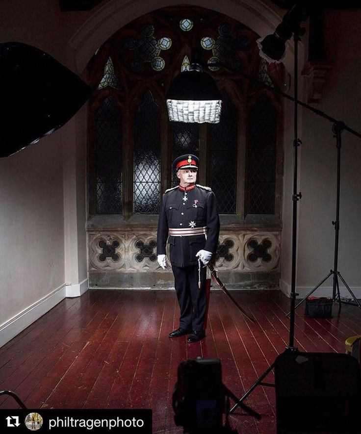 Image by  @philtragenphoto |  With the Lord Lieutenant of Greater Manchester Warren Smith this morning in the private chapel in Gorton Monastery.  - - - #photography #pentax645z #portraits #profoto @profotoglobal #mediumformatdigital #resourcemag #advertising @ricoh_imaging #iso1200 @famousbtsmagazine #ProfotoBTS