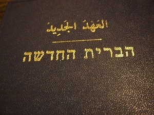 Hebrew - Arabic Bilingual New Testament / 1971
