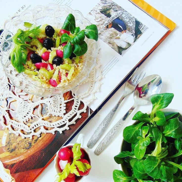 Quinoa z warzywami. #healthy #healthyfood #followall #fit #foodphotography #foodporn #instafood #instafollow #salad #yummy #delicious #beautiful #instagood