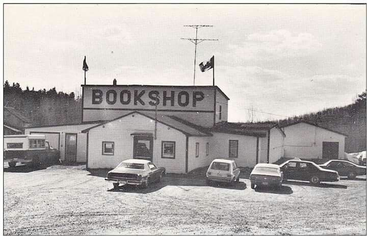 Highway Bookshop outside Cobalt near Timmins closed in 2011