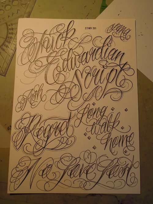 703 b sta bilderna om tattoo lettering and fonts p for Name fonts for tattoos