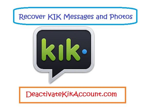 How to see deleted messages on kik