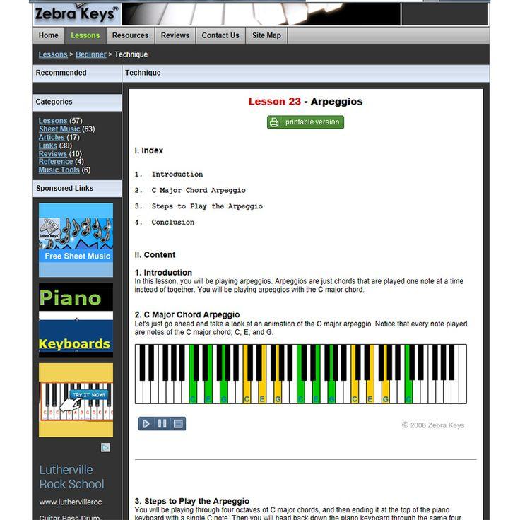 Silent Night  Zebra Keys