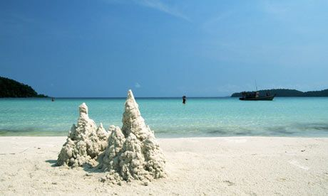 'Snowdrift Bay' ... if you want to be the only person on the beach head to Koh Rong cambodia
