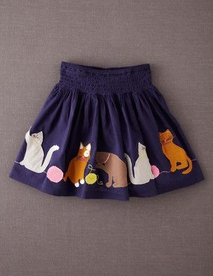 I've spotted this @BodenClothing Decorative Skirt True Navy Cats $43.20  Too bad it only comes in girls' sizes!