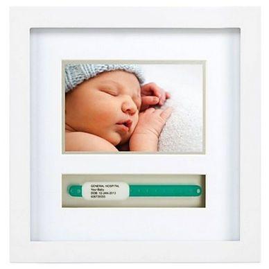 Pearhead Frame - Baby Photo & Hospital ID Band