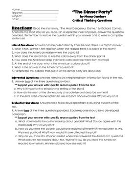 critical thinking diagram worksheet 46-1