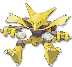 65. Alakazam : Pokemon Psy type Psy
