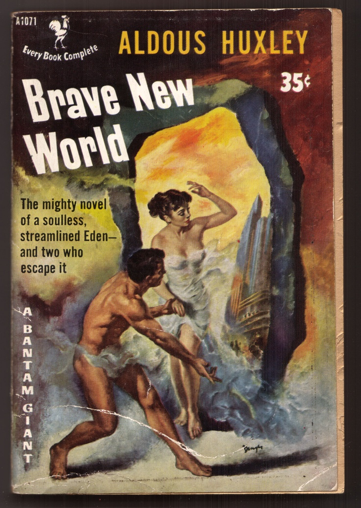 an analysis of the book brave new world by aldous huxley Aldous huxley's novel brave new world was published in 1932 by chatto & windus brave new world and george orwell's nineteen eighty-four have often been described as prophetic, anticipating key contemporary concerns such as the ethical limits of state article by: mike ashley theme: visions of the future.
