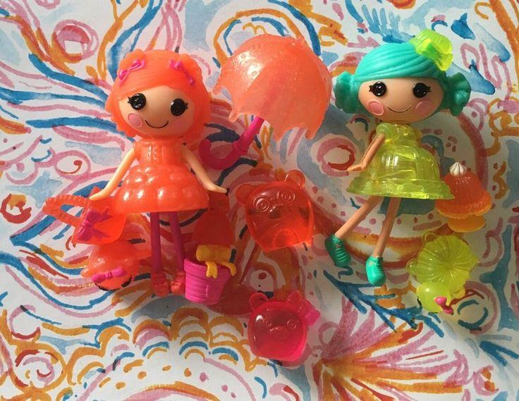 Mini LALALOOPSY Lot Jelly Wiggle Jiggle Sugar Fruit Drops & Curly Locks Bears  | eBay