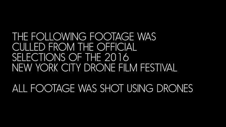 The New York City Drone Film Festival represents the best drone cinema in the world. Thanks to all the amazing filmmakers who's work serves to guide the amaz...