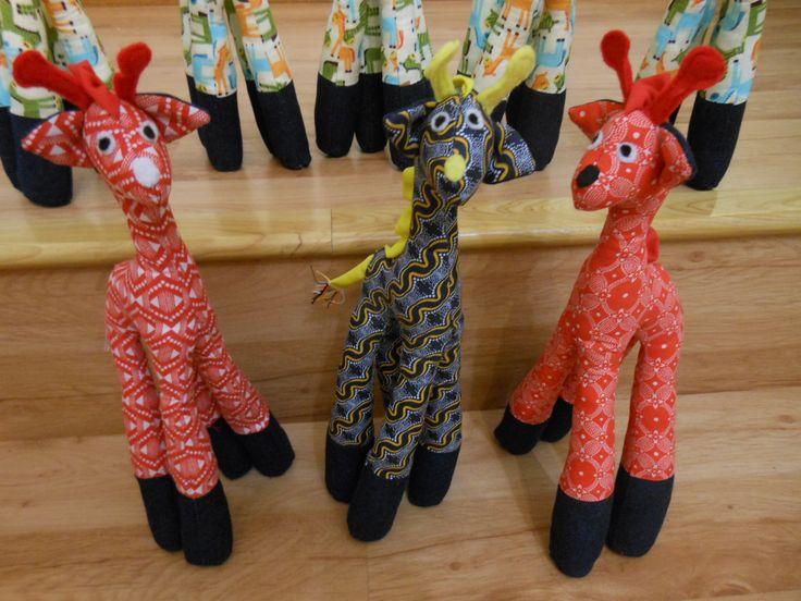 Ethnic African Giraffes
