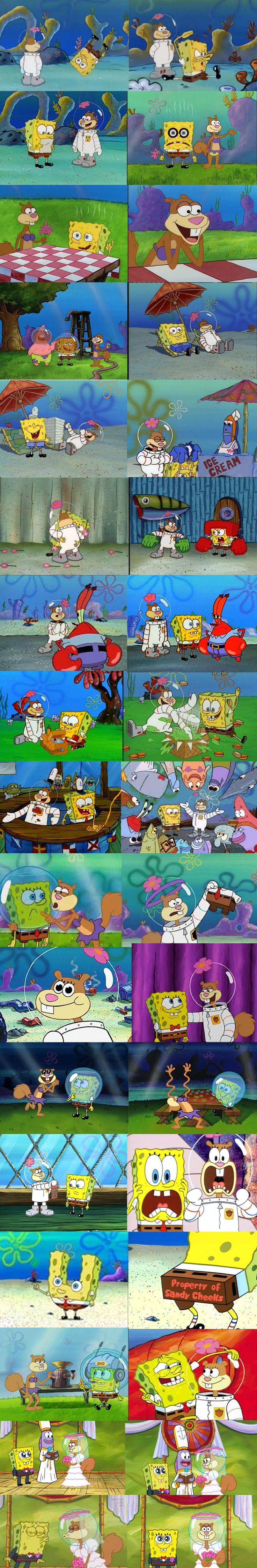 Spongebob and Sandy lol
