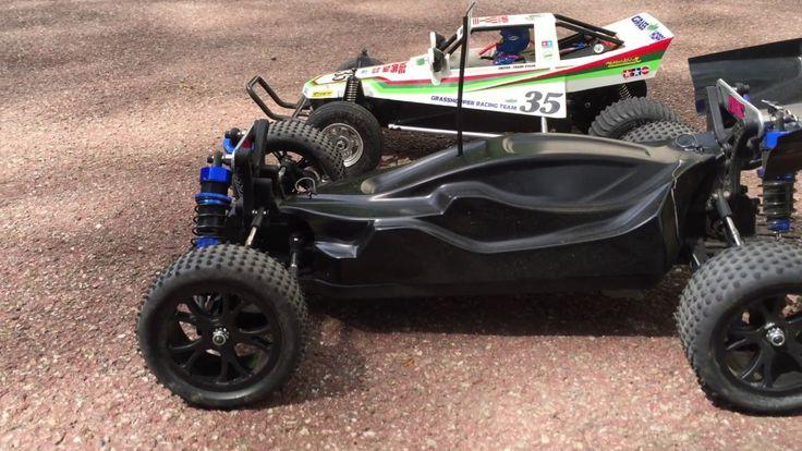 Tamiya Grasshopper vs Modern Rc buggy
