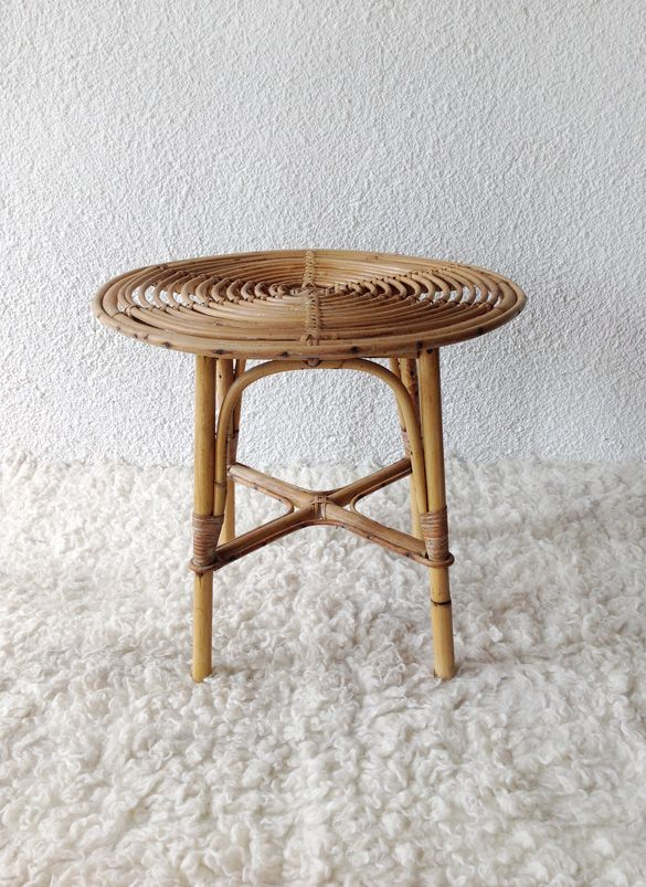 bamboo table www.vadevintage.com