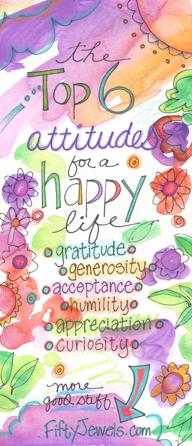 The top attitudes for a happy life are waiting for you on every page of the all new 2017 Choices Notebook 12-Month Planner. CLICK to learn more & pin for later! http://FiftyJewels.com