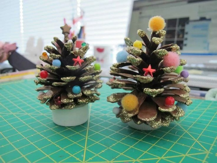 Christmas Craft Ideas For 2nd Graders Part - 21: I Remember Making These When I Was In 2nd Grade And We Always Brought It  Out. Pine Cone TreeCone TreesKids Holiday CraftsPreschool ...