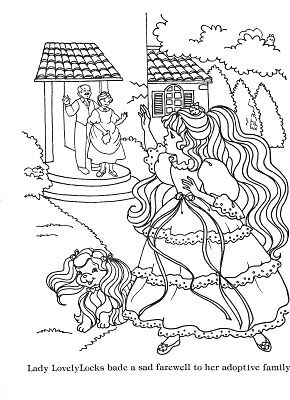 46 best images about lady lovely locks on pinterest the for Lady lovely locks coloring pages